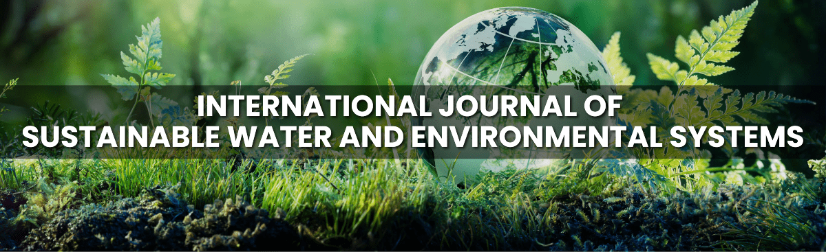 International Journal of Sustainable Water and Environmental Systems
