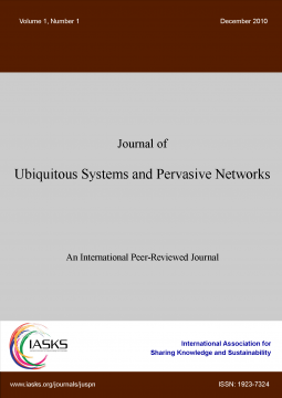 International Journal of Ubiquitous Systems and Pervasive Networks
