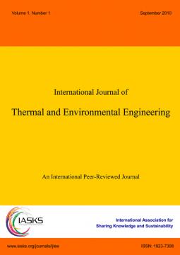 International Journal of Thermal and Environmental Engineering